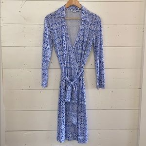 Pendleton Wrap Dress